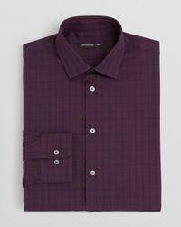 John Varvatos - Purple Usa Plaid Dress Shirt - Slim Fit for Men - Lyst