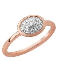 Links of London | Pink Diamond Essentials Rose Vermeil Ring | Lyst