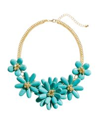 H&M | Green Short Necklace | Lyst