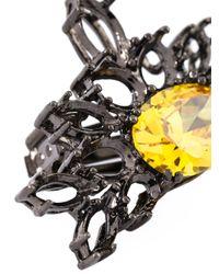 Iosselliani | 'black On Black Memento' Clip-on Earrings | Lyst