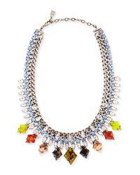 DANNIJO Cayden Multicolor Necklace