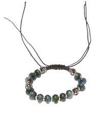 Stones Of Character - Green Bead Bracelet - Lyst