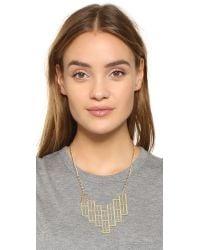 Adia Kibur - Metallic Isabella Statement Necklace - Lyst