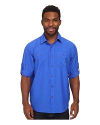 Under Armour | Blue Ua Chesapeake L/s Shirt for Men | Lyst