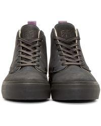 Eytys - Black Nubuck Odyssey High-top Sneakers for Men - Lyst