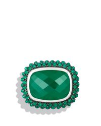David Yurman | Osetra Ring With Green Onyx | Lyst