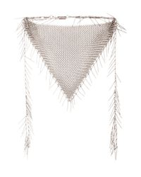 Isabel Marant | Metallic Linares Mesh Chain Necklace | Lyst