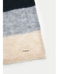Violeta by Mango - Blue Mohair-blend Sweater - Lyst