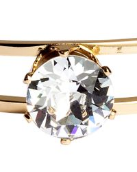 H&M | Metallic Bangle With A Crystal | Lyst