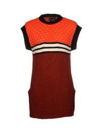 Just Cavalli | Orange Jumper for Men | Lyst