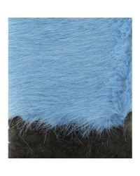 Shrimps | Blue Martha Scarf | Lyst