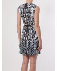 Peter Pilotto - Blue Digital Print Dress - Lyst
