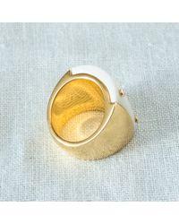 Maiyet | Metallic White Bone Ring | Lyst