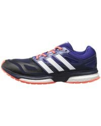 Adidas | Blue Response Boost Techfit for Men | Lyst