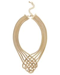 Coast | Metallic Lattice Necklace | Lyst