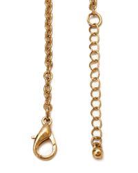 Forever 21 | Metallic Filigree Bib Necklace | Lyst