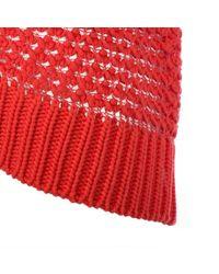 Paul Smith | Pink Women'S Coral Bobble-Stitch Crochet Cardigan | Lyst