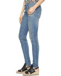 6397 Dirty Light Blue Skinny Jeans - Dirty Light Blue