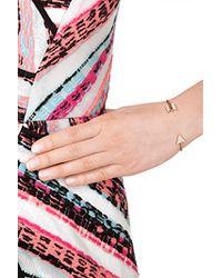 Anita Ko | Pink 18kt Rose Gold Arrow Cuff With Diamonds | Lyst