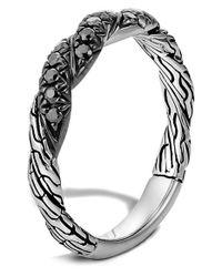 John Hardy - Metallic 'classic Chain' Sapphire Band Ring - Lyst