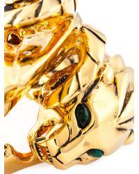 Giuseppe Zanotti - Metallic Lion Bracelet - Lyst