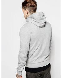 Le Coq Sportif | Gray Hoodie for Men | Lyst