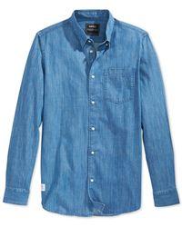 Wesc Blue Cai Denim Shirt for men