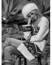 Free People - White Womens Keep Me Warm Cardi - Lyst