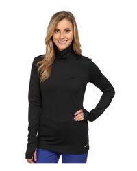 Nike | Black Warm Mock Baselayer | Lyst