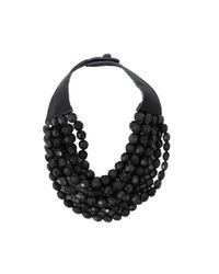 Fairchild Baldwin | Black Bella Beaded Necklace | Lyst