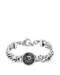 DIESEL - Gray Bracelet Dx0885 for Men - Lyst