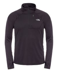 The North Face | Black Impulse Active Nylon Running Sweatshirt | Lyst