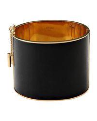 Céline - Black Bracelet - Lyst