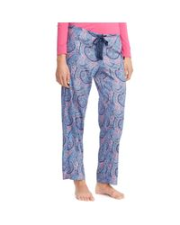 Pink Pony Blue Drawstring Pajama Pant