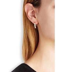 Iosselliani | Metallic 18Kt Gold-Plated Ring And Fan Earrings | Lyst