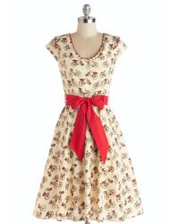 Folter Inc | Natural Darling Delivery Dress | Lyst