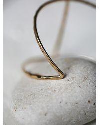 Free People - Metallic Phyllis + Rosie Jewelry Womens Spun Gold Cuff - Lyst
