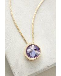 Sarah Magid | Purple Pointillist Pendant Necklace | Lyst