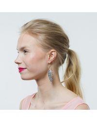 Lulu Frost | White Demeter Earring | Lyst