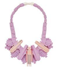 EK Thongprasert - Pink Art De Co' Necklace - Lyst