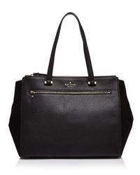 kate spade new york - Black Matthews Drive Holland Tote - Lyst