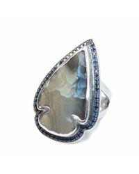 Pamela Love | Blue Jasper Sapphire Ring - Size 6 | Lyst