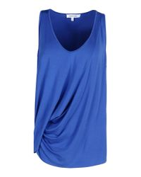 Elizabeth and James - Blue Top - Lyst