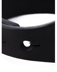 Rick Owens - Black Stud Fastening Bracelet for Men - Lyst