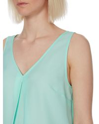 Therapy | Green Essential Vest | Lyst