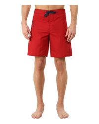 Patagonia | Red Minimalist Wavefarer Board Shorts for Men | Lyst