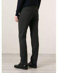 Giorgio Armani Black Tailored Trousers for men
