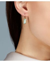Astley Clarke - Blue Gold-plated Aqua Prismic Drop Earrings - Lyst