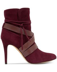 Vince Camuto | Purple Solter Booties | Lyst