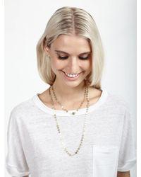 Phyllis + Rosie   Metallic Gold Coin Necklace   Lyst